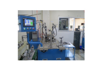 Single station brazing machine