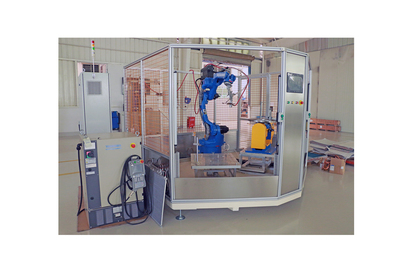 Robot Brazing Machine