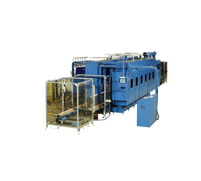 Brazing machine for aluminum evaporator and condenser